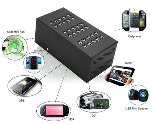 multi-ports-usb-charger-application