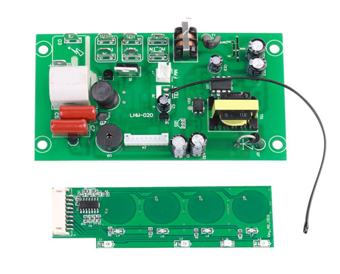 control board for electric household appliances