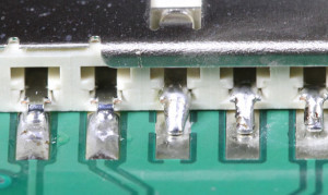 insufficient wetting surface mount